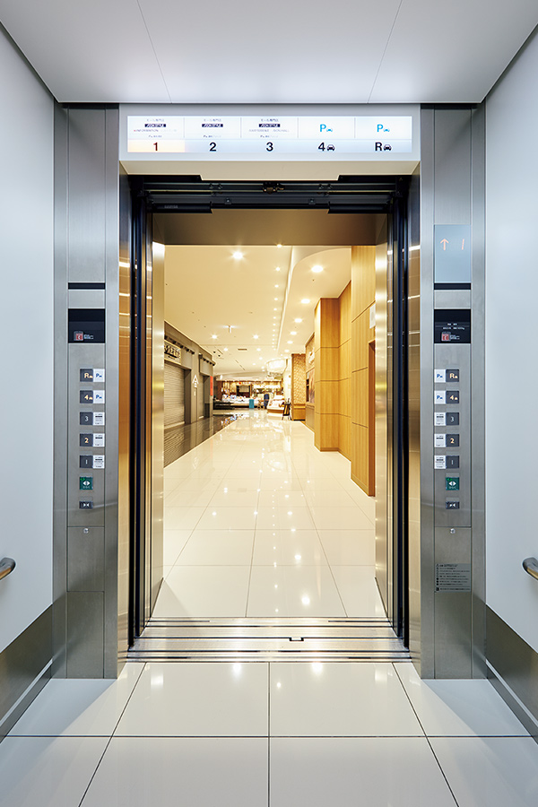 Mitsubishi Electric Car >> 三菱エレベーター・エスカレーター|納入事例|イオンモール堺鉄砲町|三菱電機