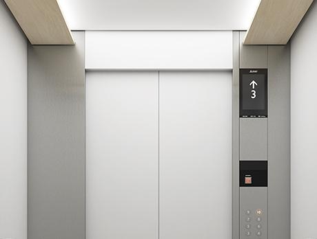三菱エレベーター・エスカレーター|納入事例|町田市庁舎|三菱電機