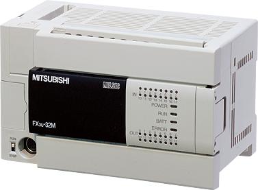 FX3U-32MR/DS, Προγραμματιζόμενος Ελεγκτής Mitsubishi