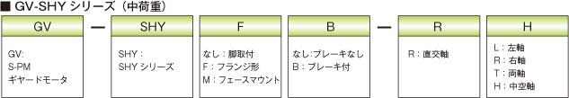 GV-SHYシリーズ(中荷重)