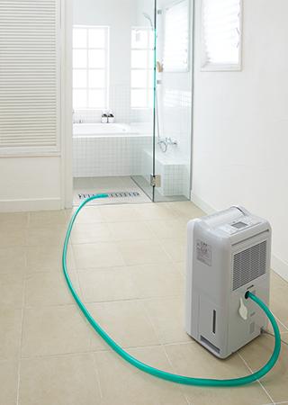 三菱電機 衣類乾燥除湿機:部屋干し3Dムーブアイ搭載タイプ 連続排水