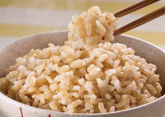 美容玄米モードで炊いたお米