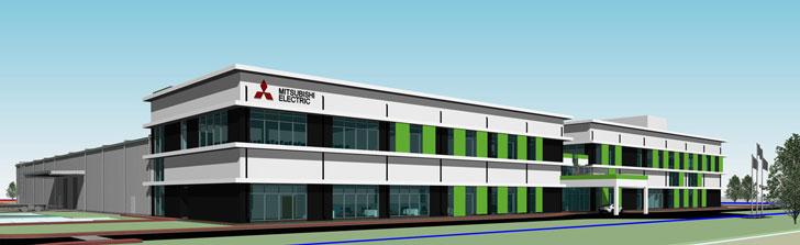 MEAI新工場のイメージ